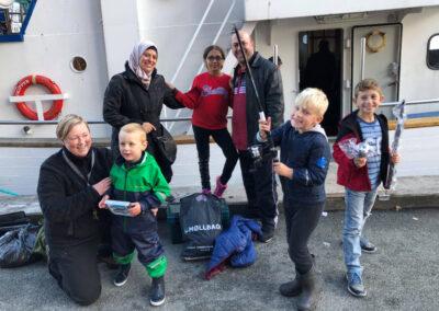 BLFA Kuttertur på Øresund